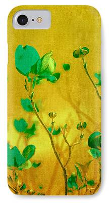 Abstract Flowers Images iPhone Cases