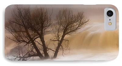 Against The Current St. Louis River Jay Cooke Thomsen Reservoir Spring iPhone Cases
