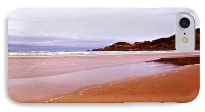 Beach Near Newport Oregon iPhone Cases