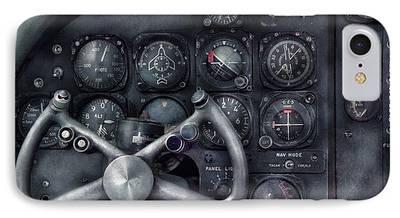 Cockpit Photographs iPhone Cases
