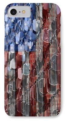 Memorial Day Digital Art iPhone Cases