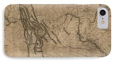 Montana Drawings iPhone Cases