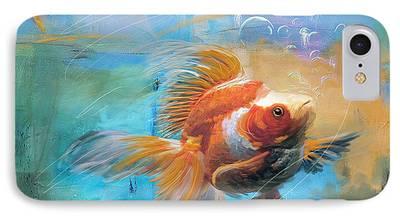 Goldfish iPhone 7 Cases
