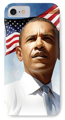 Obama Art iPhone Cases