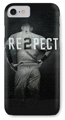 Baseball Uniform iPhone Cases