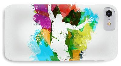 Basketball Abstract iPhone Cases