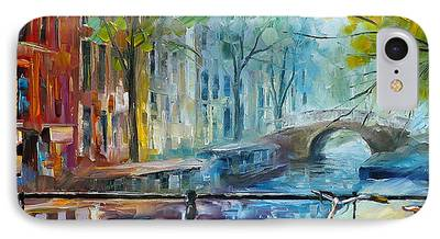 Waterscape Paintings iPhone Cases
