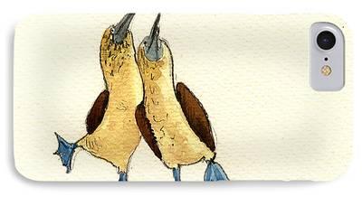 Sea Birds iPhone Cases