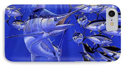 Striped Marlin iPhone Cases