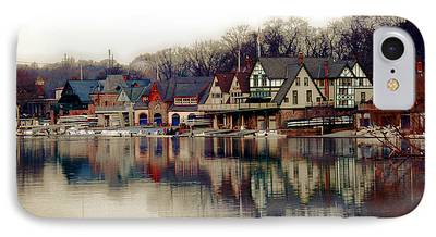 Boathouses iPhone Cases
