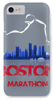 City. Boston Photographs iPhone Cases