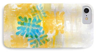 Abstract Lemons iPhone Cases