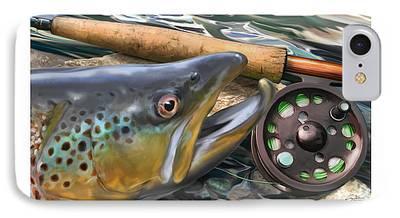 Salmon iPhone Cases