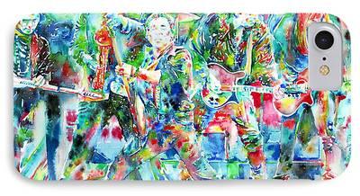Patti Scialfa Paintings iPhone Cases
