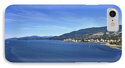 Burrard Inlet iPhone Cases