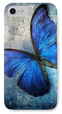 Monochromatic Digital Art iPhone Cases