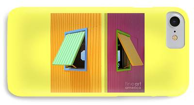 Window Shade iPhone Cases