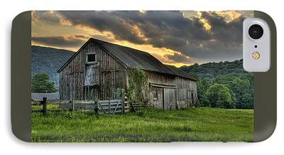 Classic New England Barns iPhone Cases