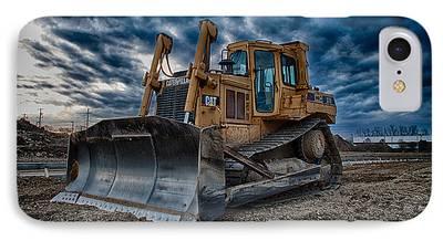 Construction Equipment iPhone Cases