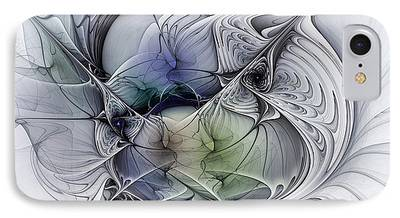 Fractal Geometry iPhone Cases