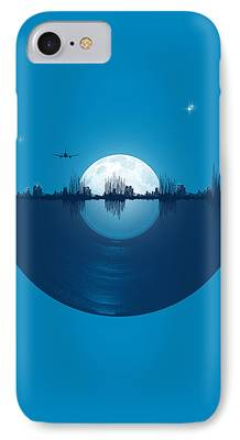 Cities Digital Art iPhone Cases