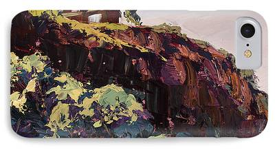 Watson Lake Paintings iPhone Cases