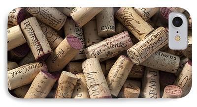 Wine Cellar Photographs iPhone Cases