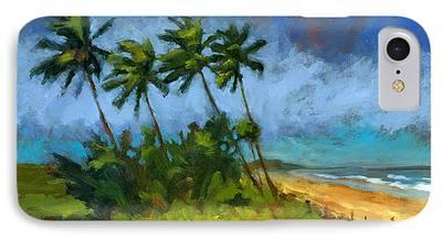 Windblown Paintings iPhone Cases