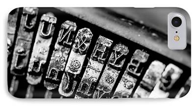 Typewriter Keys iPhone Cases