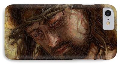 Crucifixion iPhone Cases