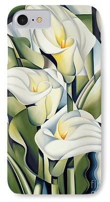 Floral Art iPhone Cases