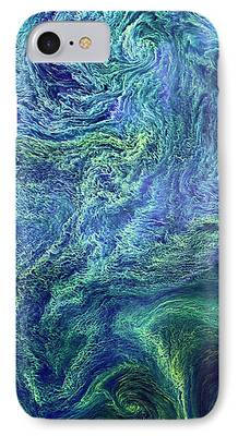Phytoplankton iPhone Cases