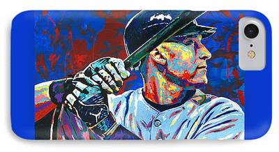 World Series Paintings iPhone Cases