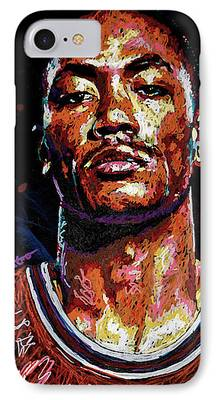 Knicks Paintings iPhone Cases