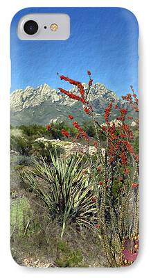 Las Cruces New Mexico Digital Art iPhone Cases