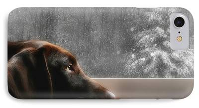 Christmas Greeting Photographs iPhone Cases