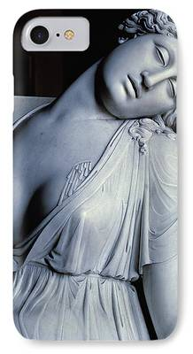 Ending Life Paintings iPhone Cases