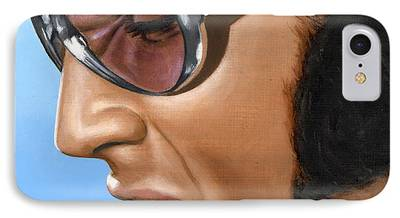 Elvis Presley Paintings iPhone Cases