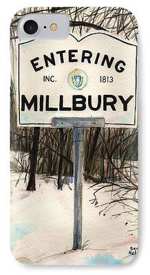 Entering Millbury iPhone Cases