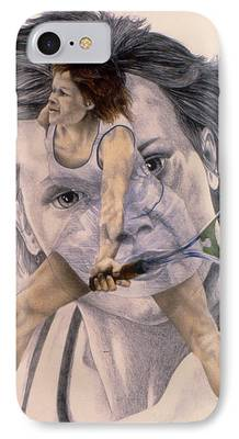 Wta Drawings iPhone Cases