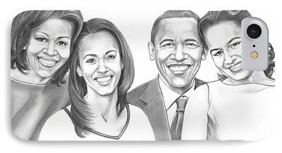 Obama Family iPhone Cases
