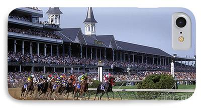 Kentucky Derby Photographs iPhone Cases