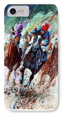 Horse Racing iPhone Cases