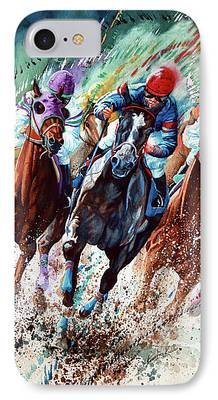 Horse Race iPhone Cases