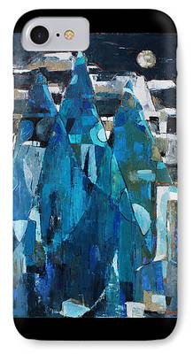 Becky Kim ist Paintings iPhone Cases