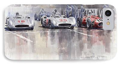 Vintagesport Cars iPhone Cases