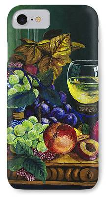 Fruit And Wine iPhone Cases