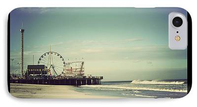 Seaside Heights Photographs iPhone Cases