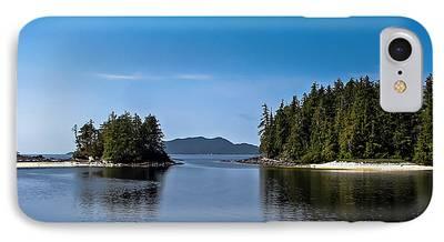 Queen Charlotte Strait iPhone Cases