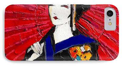 Prostitution Paintings iPhone Cases
